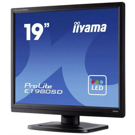 Monitoare Second Hand LED Iiyama PROLITE E1980SD, Grad A-, 19 inch